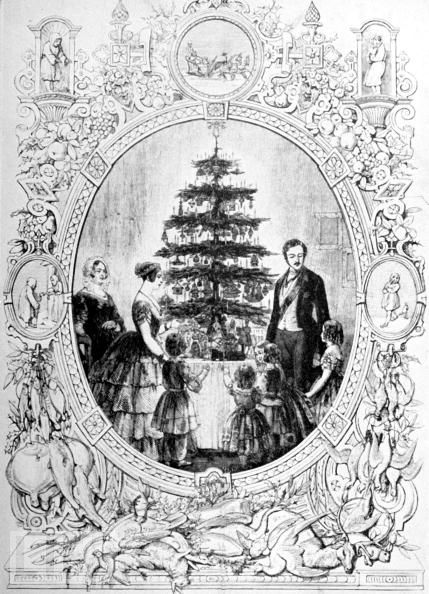 The Victorian Christmas Tree | Gaskell Blog