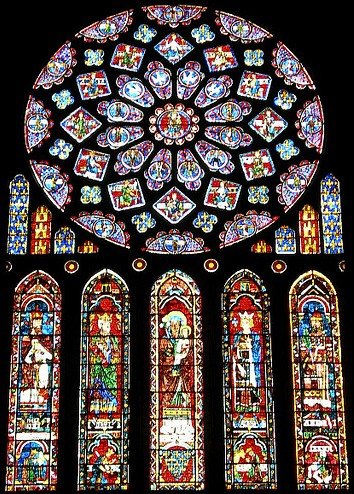 Gothic architecture window windows and buttresses of the - Elizabeth Gaskell S Ruth Ch 2 Annotation Gothic